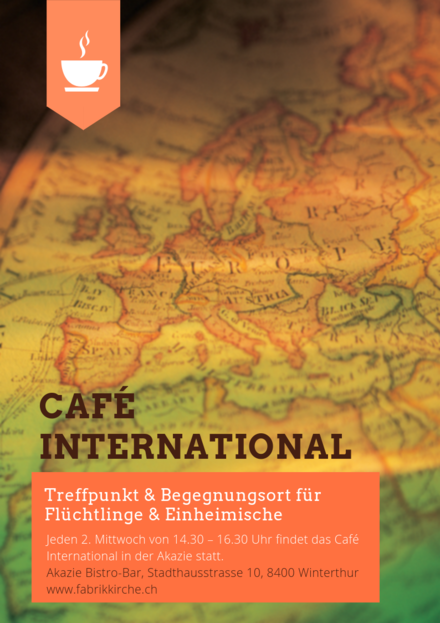 HerferInnen für das Café International in der Fabrikkirche Winterthur